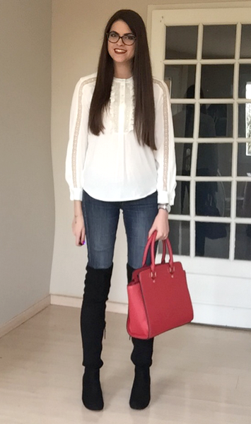 anne fontaine tendance clemence look blouse