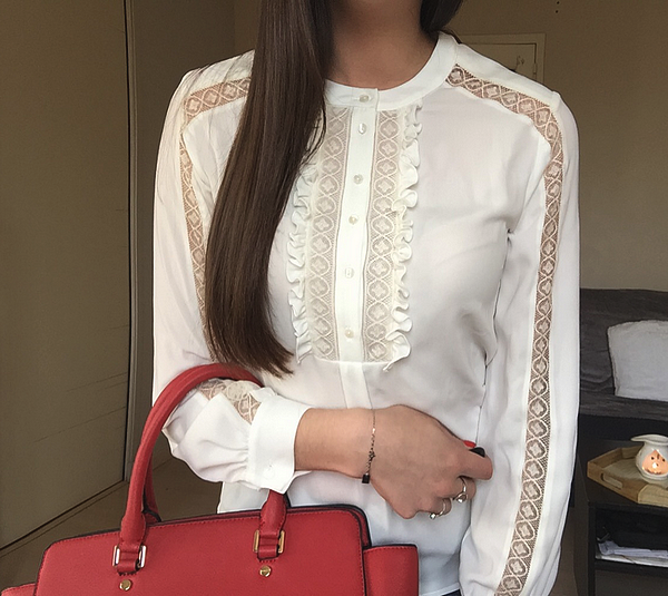 anne fontaine tendance clemence zoom blouse