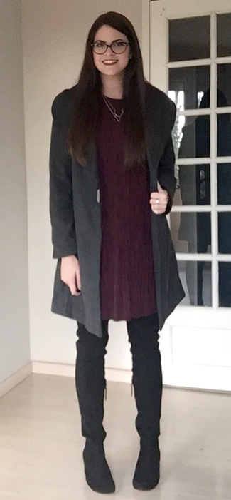 look manteau gris 4