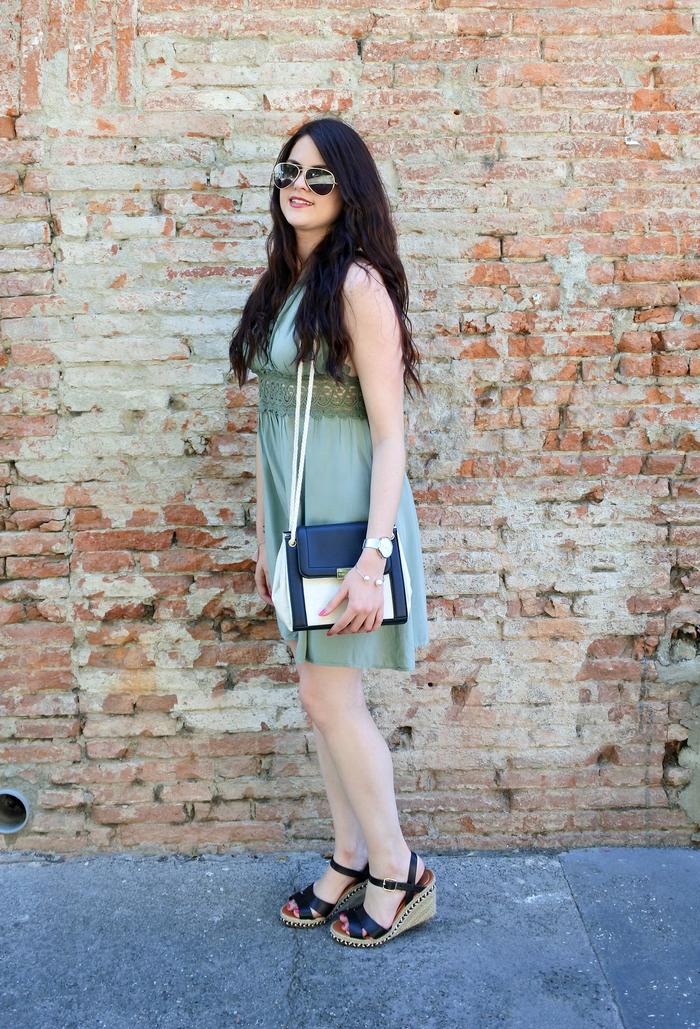 look robe dos nu tendance clémence blog mode toulouse
