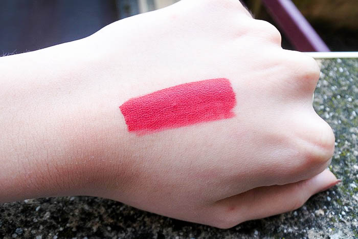 Les rouges à lèvres Mattissim de Nocibé tendance clémence