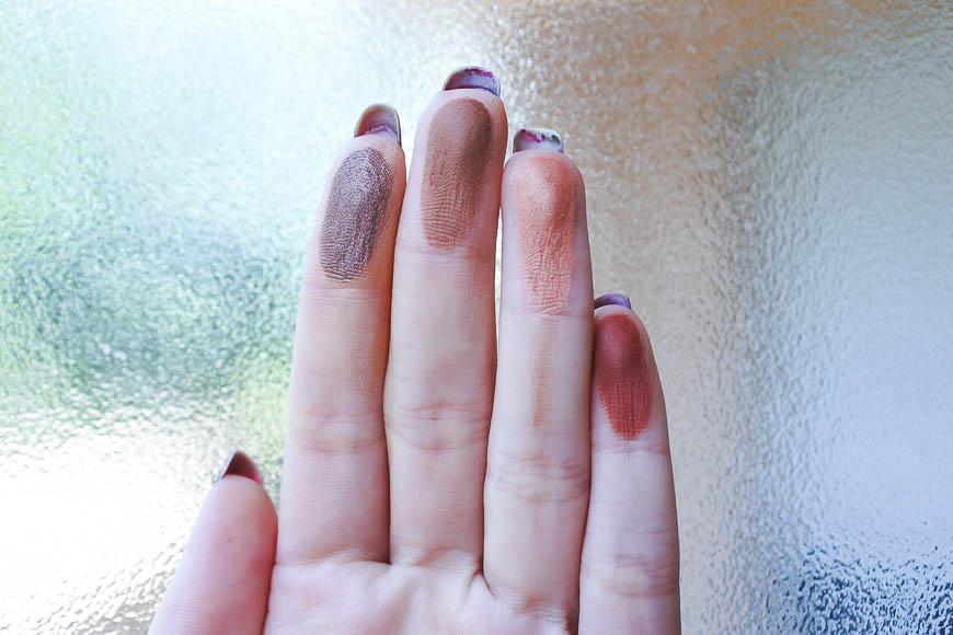 palette Brown Nude de Black Up tendance clémence blog beauté
