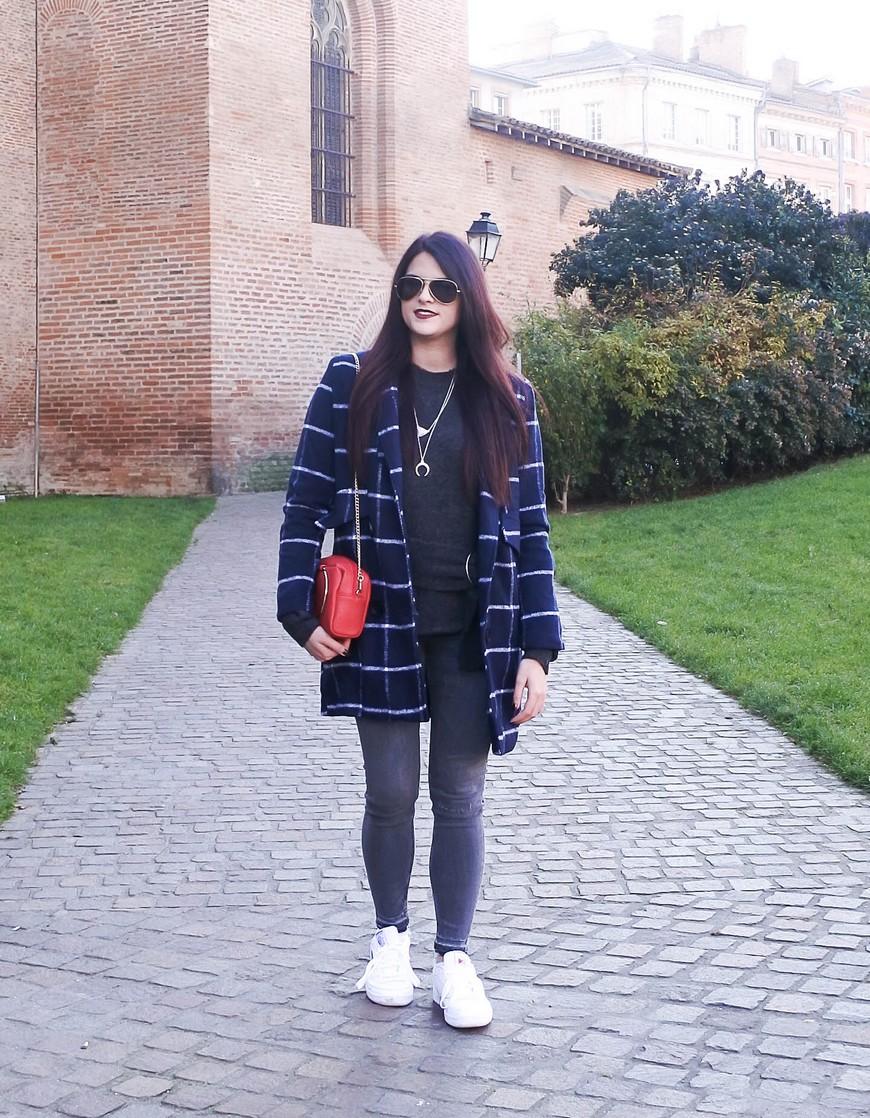 Look n°106 • Le cas du manteau à carreaux