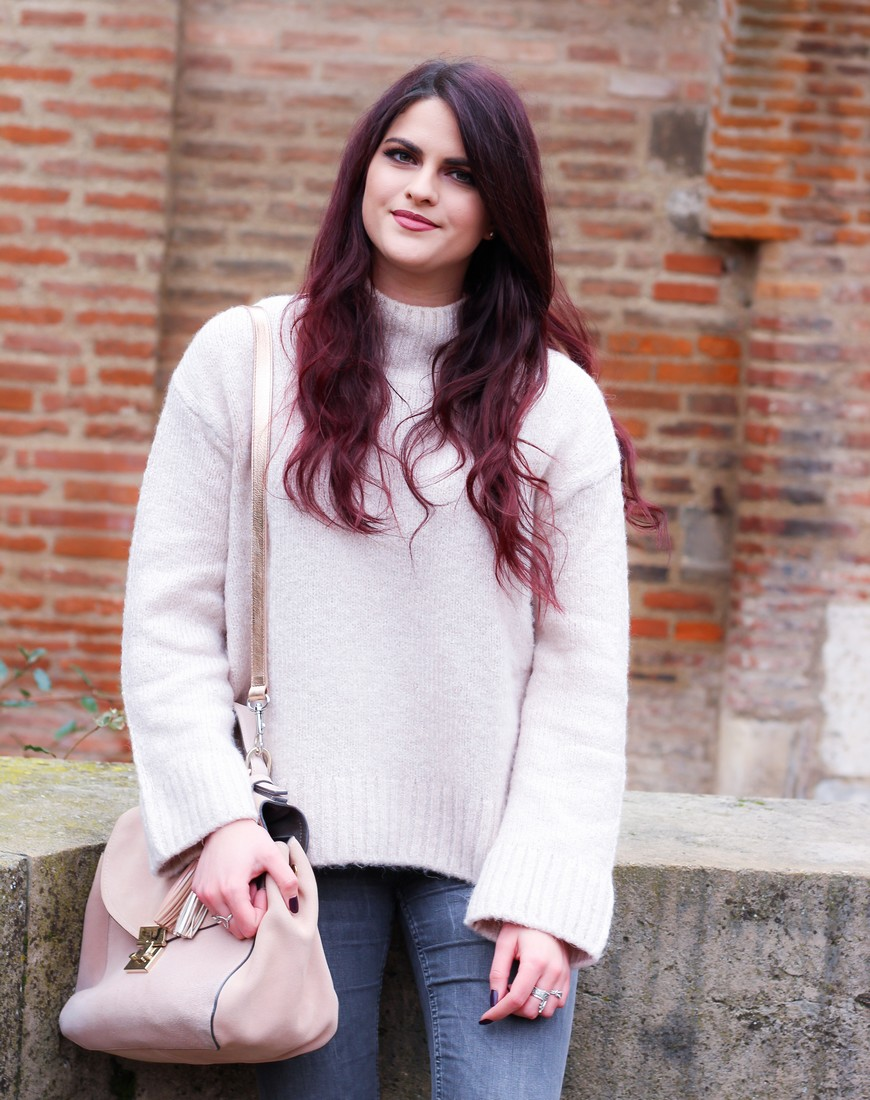Look Pull doudou rose