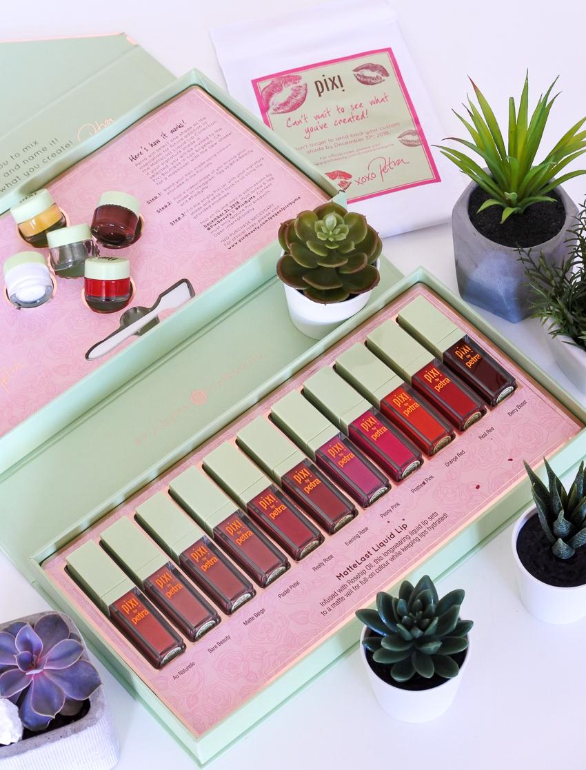 rouges à lèvres liquides Pixi Beauty
