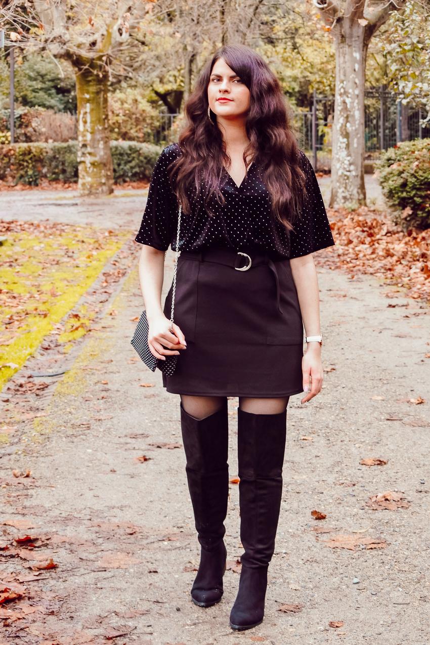 Look n°157 • Une tenue pailletée pour les fêtes