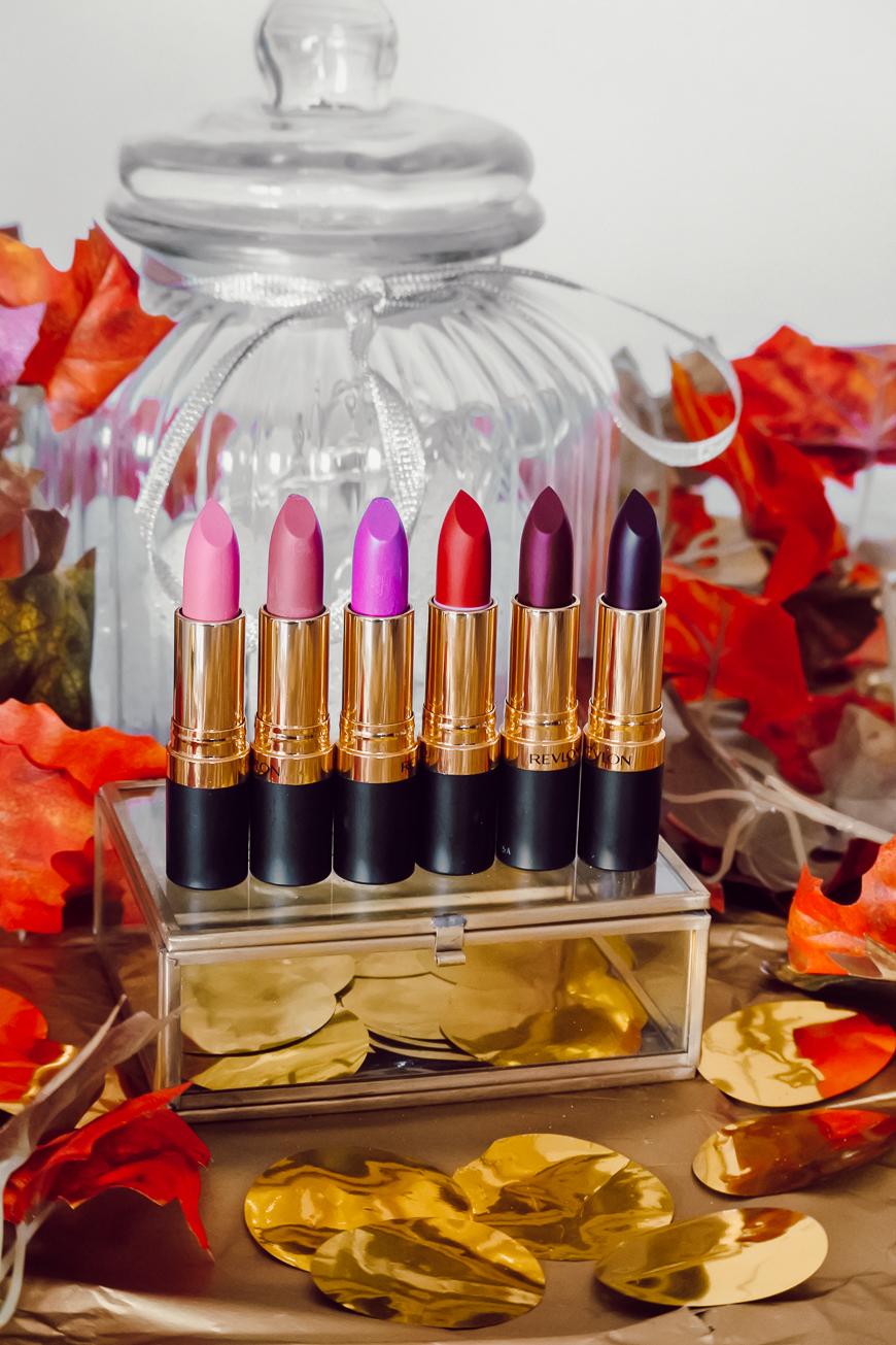 Les rouges à lèvres Revlon Super Lustrous Matte