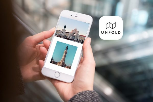 Unfold : l'application pour créer de jolies stories Instagram