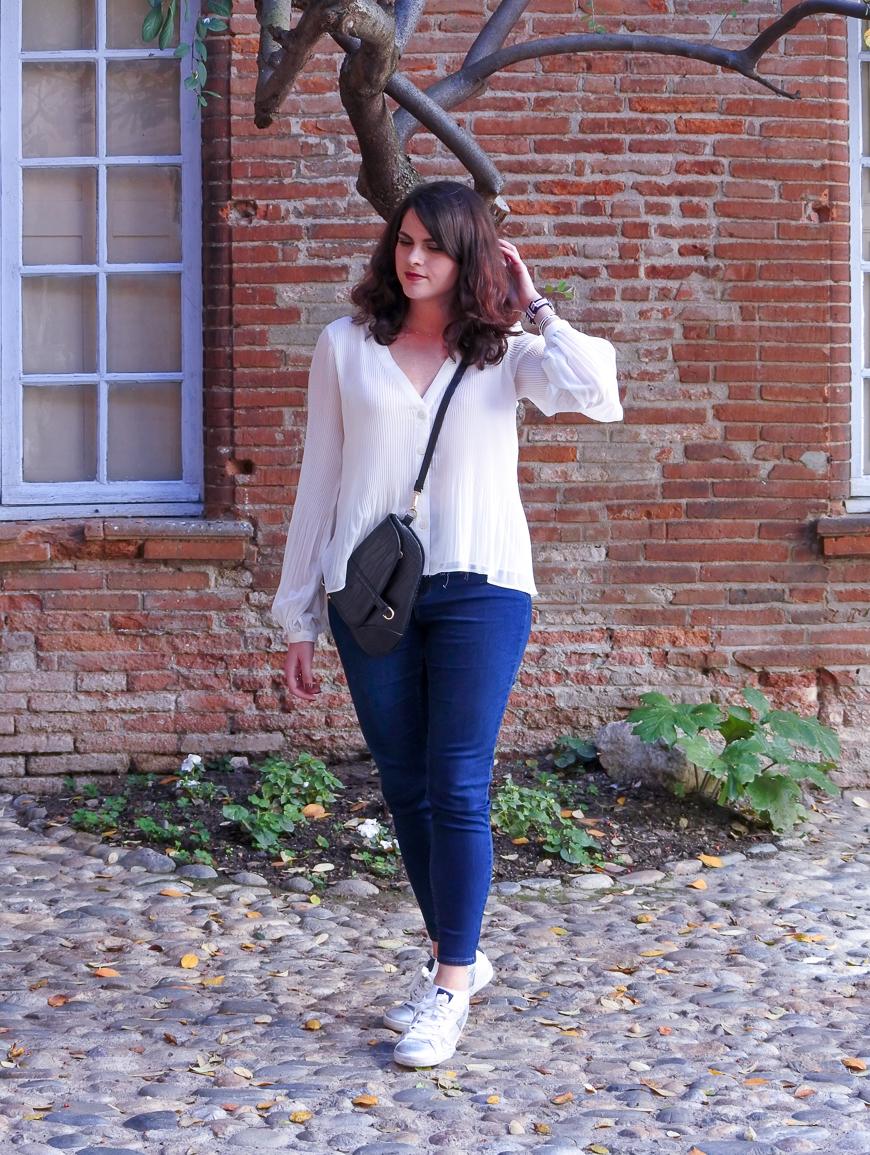 blouse blanche Zara