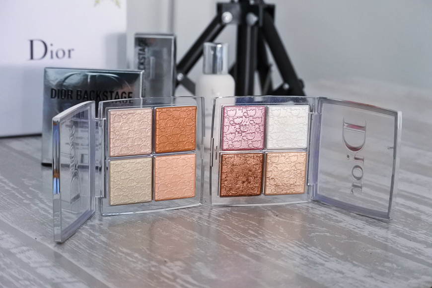 Glow Face Palette dior backstage