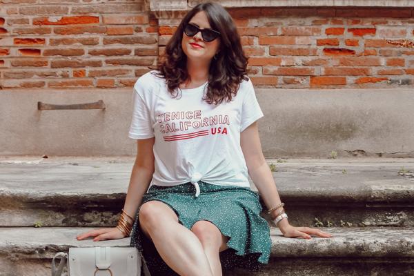 Look n°184  • Comment porter la jupe à motifs ?