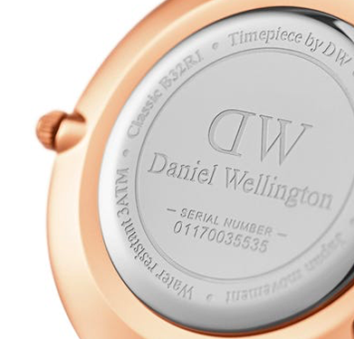 Wish-list d'anniversaire Montre Daniel Wellington blanche
