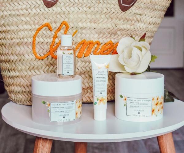 Les soins de cosmétique florale Lilaroze