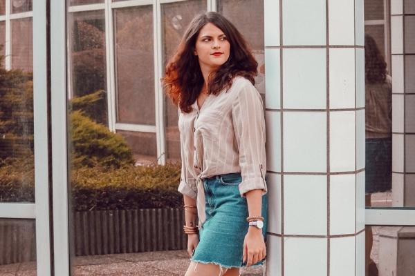 Look • En jupe en jeans pour la rentrée