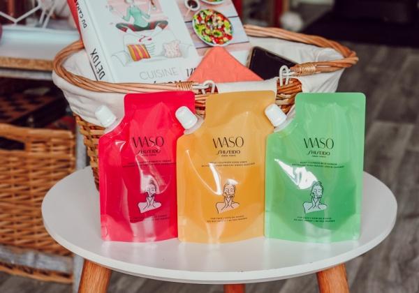 Le Waso Trio Nettoyant Shiseido pour une peau fraîche