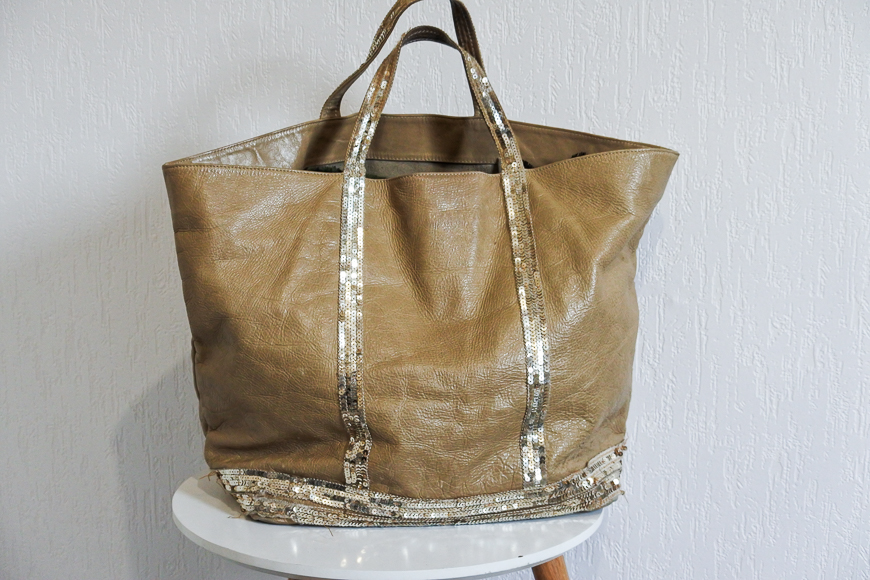 grand sac cabas en cuir