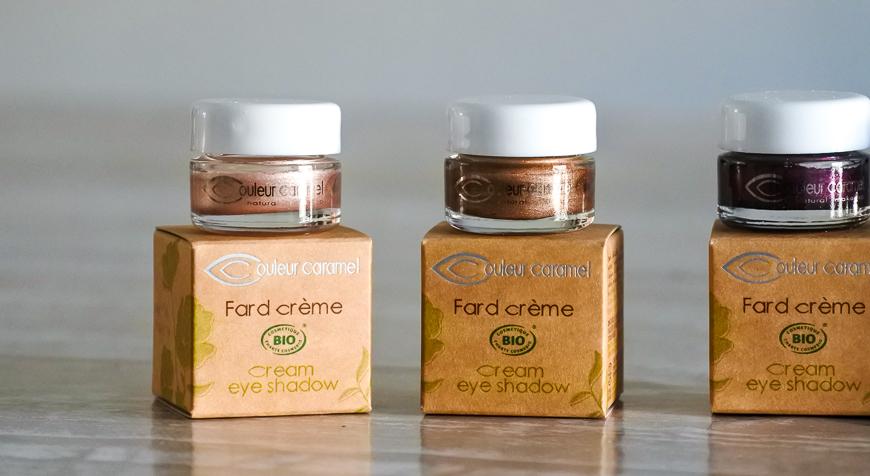 Fards crème couleur caramel