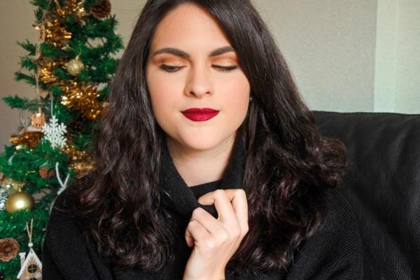 Tutoriel • Maquillage doré et lèvres métalliques pour les fêtes