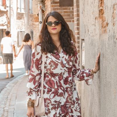 Look • Une robe fleurie pour la rentrée