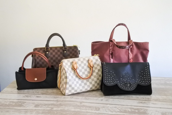 Ma collection de sacs de marques (2020)