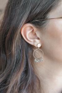 boucles oreilles dorées