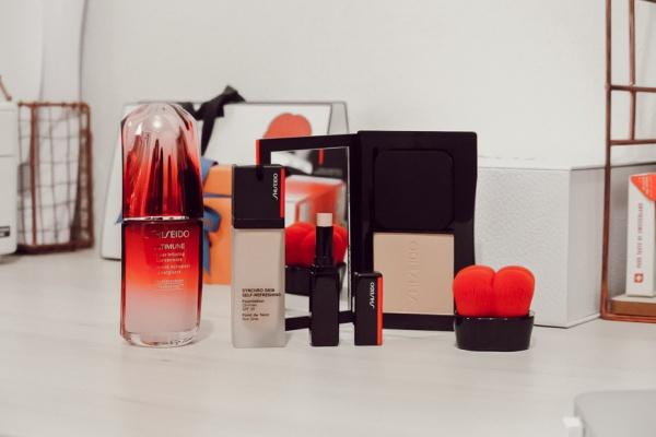 La routine teint parfait Shiseido