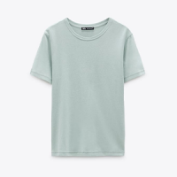 T-shirt vert sauge