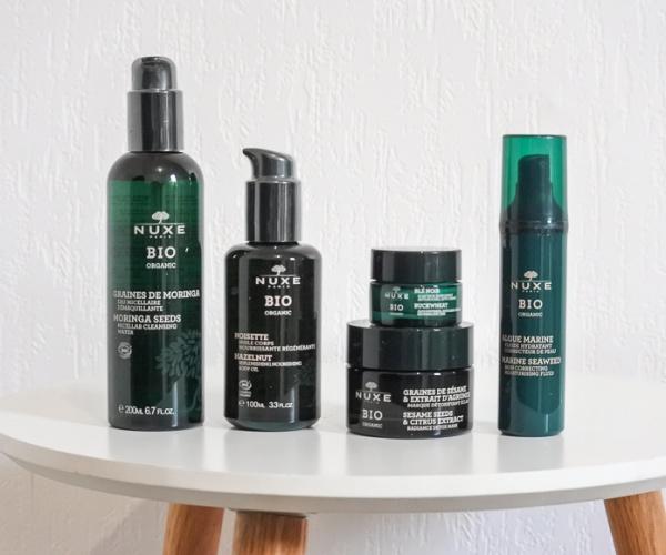 Les produits Nuxe Bio avis et présentation
