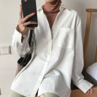 Chemise blanche coupe loose